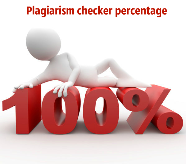 how to check plagiarism percentage